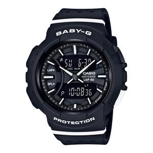 【送料無料】Baby-G(ベビージー) BGA-240-1A1JF 46.4x42.6 ブラックxホワイト