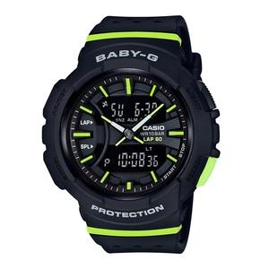 【送料無料】Baby-G(ベビージー) BGA-240-1A2JF 46.4x42.6 ブラックxグリーン