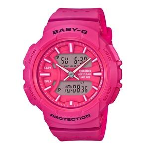 【送料無料】Baby-G(ベビージー) BGA-240-4AJF 46.4x42.6 ピンク