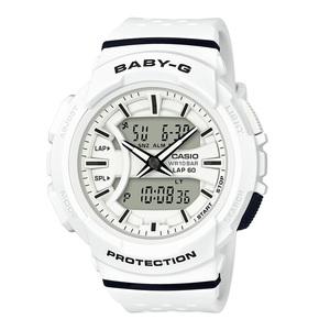 【送料無料】Baby-G(ベビージー) BGA-240-7AJF 46.4x42.6 ホワイト