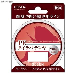 アウトドア&フィッシング ナチュラムゴーセン(GOSEN) PE タイラバテンヤ 210m 0.8号/14lb GL00208