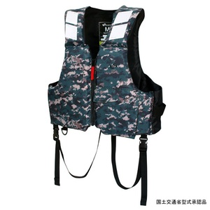 Takashina(高階救命器具) ファミリーPFD 大人用 S グリーンデジカモ BSJ-200A