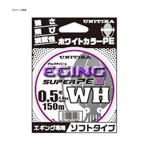 ユニチカ(UNITIKA)キャスラインエギングスーパーPEIII.WH(ソフトタイプ) 150m