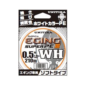 ユニチカ(UNITIKA) キャスラインエギングスーパーPEIII.WH(ソフトタイプ) 210m 07022