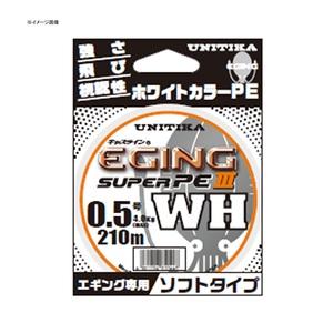 ユニチカ(UNITIKA) キャスラインエギングスーパーPEIII.WH(ソフトタイプ) 210m 07023