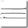 アブガルシア(Abu Garcia) Mesh Rod Cover(メッシュロッドカバー) M ブラック