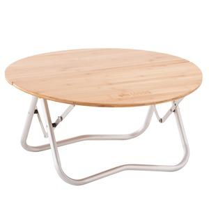 【送料無料】ロゴス(LOGOS) Bamboo丸テーブル 73180027