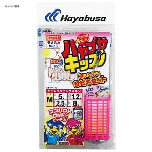 ハヤブサ(Hayabusa) 使いやすいサビキセット 下カゴ式 4本鈎 HA190
