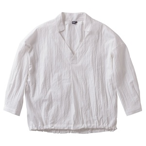 【送料無料】HELLY HANSEN(ヘリーハンセン) HW41711 W L/S Seersucker Stripe Shirt WM W