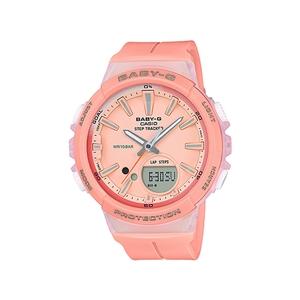 【送料無料】Baby-G(ベビージー) BGS-100-4AJF ピンク