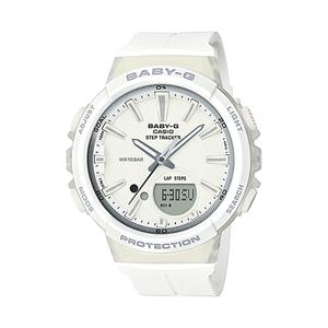 【送料無料】Baby-G(ベビージー) BGS-100-7A1JF ホワイト