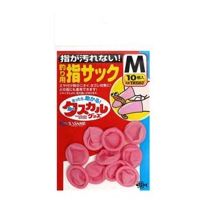 ささめ針(SASAME) タスカル 指サック(ピンク) M TKG02