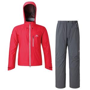【送料無料】マウンテンイクイップメント(Mountain Equipment) Dewline Rain Suit XL トゥルーレッド 421204