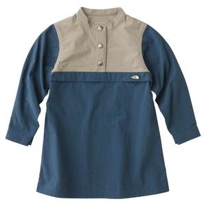 【送料無料】THE NORTH FACE(ザ・ノースフェイス) PULLOVER DRESS KIDS'(プルオーバー ドレス キッズ) 100cm CM(コズミックブルー) NPG71707
