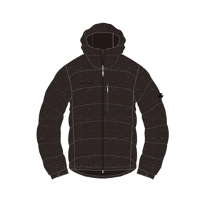 【送料無料】MAMMUT(マムート) SERAC Hoody Melange Down Jacket Men's M 0033(black melange) 1013-23081