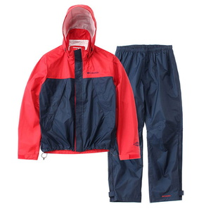 【送料無料】Columbia(コロンビア) SIMPSON SANCTUARY RAINSUIT Men's M 610(Intense Red) PM0124