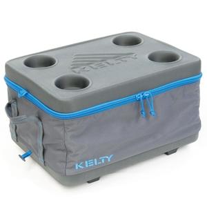 【送料無料】KELTY(ケルティ) フォールディング・クーラー・ミディアム M Smoke(スモーク) A24668616