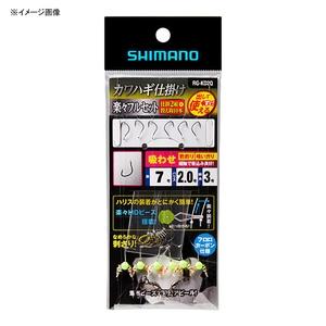 シマノ(SHIMANO)RG−KD2Q カワハギ仕掛け 楽々フルセット 吸わせ