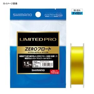 シマノ(SHIMANO) NL-I54Q LIMITED PRO HYPER-REPEL α NYLON ZEROフロート 2.0号 ロイヤルゴールド 54989