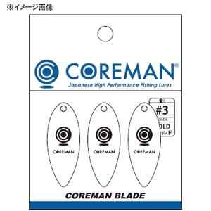 コアマン(COREMAN) コアマンブレード #3 #004 ガンメタ