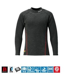 シマノ(SHIMANO) IN-021Q ブレスハイパー+度 ストレッチハイネックアンダーシャツ(極厚タイプ) 53477 アンダーシャツ