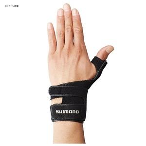 シマノ(SHIMANO) GL-05LQ リストサポートグローブ(左手) 53839 ファイブフィンガーレス(フィッシング)