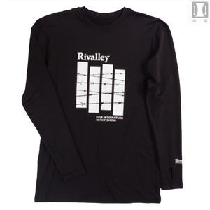 リバレイ(Rivalley) RV ウォームロングTシャツ 5311 フィッシングシャツ