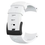 SUUNTO(スント) 【国内正規品】AMBIT3 VERTICAL WHITE SILICONE STRAP SS022005000 時計アクセサリー