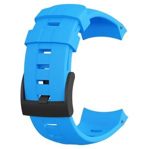 SUUNTO(スント) 【国内正規品】AMBIT3 VERTICAL BLUE SILICONE STRAP SS022006000