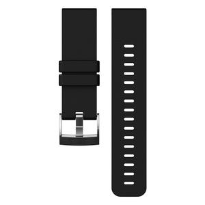 【送料無料】SUUNTO(スント) 【国内正規品】TRAVERSE BLACK SILICONE STRAP BLACK SS021846000
