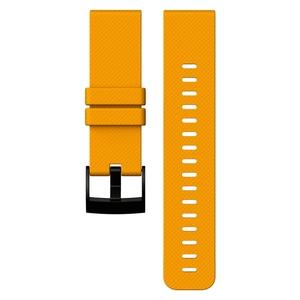 【送料無料】SUUNTO(スント) 【国内正規品】TRAVERSE AMBER SILICONE STRAP AMBER SS021847000