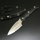 G・サカイ ニューサビナイフ 1 キャンプミニ包丁 半波刃 11505 シースナイフ