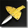 ニューサビナイフ 2 (サバキ3寸)ガットフック無イエロー