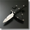 ニューサビナイフ 2 ガットフック付 ブラック