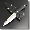 ニューサビナイフ 3 (サバキ4寸5分)ガットフック付ブラック