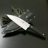 G・サカイ サビナイフ 4 出刃鯱 片刃 直刃 11471 シースナイフ