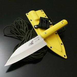 【送料無料】G・サカイ サビナイフ 4 出刃鯱 片刃 直刃 刃長(170mm) イエロー 11471