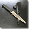 アウトドアクッキングナイフ波刃