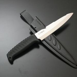 G・サカイ アウトドアクッキングナイフ 10848 シースナイフ