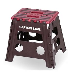 キャプテンスタッグ(CAPTAIN STAG)折りたためるステップ・チェア
