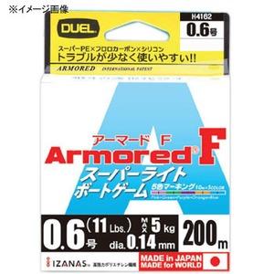 デュエル(DUEL) ARMORED F スーパーライトBG 200m H4161 オールラウンドPEライン