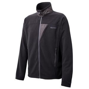 【送料無料】Marmot(マーモット) トレックフリースジャケット L BLK(ブラック) MJF-F6024