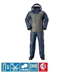 シマノ(SHIMANO) RB-035N マリンコールド ウェザースーツ EX 53683 防寒レインスーツ(上下)