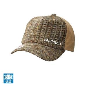 シマノ(SHIMANO) CA-071Q ツイード キャップ 53313 帽子&紫外線対策グッズ