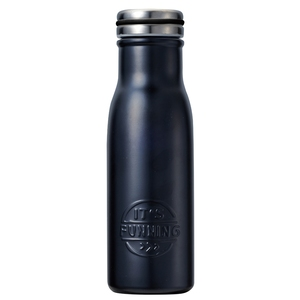 ベストコ プラセル ダブルステンレス マグボトル 480ml ブラック ND-3043