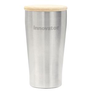 イノベーター(innovator)ステンレス真空二重タンブラー&木蓋