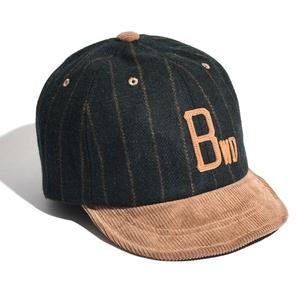 BELLWOODMADE(ベルウッドメイド) AWESOME BB CAP MELTON MIX フリー GREEN STRIPE BWABC4GN2626