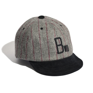 BELLWOODMADE(ベルウッドメイド) AWESOME BB CAP MELTON MIX BWABC5GY2627