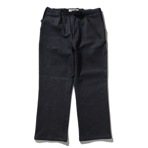 AWESOME PANTS WIDE WARM DENIM S BLACK