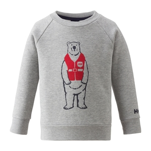 HELLY HANSEN(ヘリーハンセン) HJ31561 K Bear Print Crew 100 Z